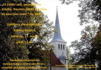 Dievkalpojums Kabiles baznīcā