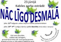 Līgo svētki Kabiles estrādē 23.jūnijā
