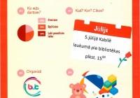 Radošā pēcpusdiena bērniem 5.jūlijā