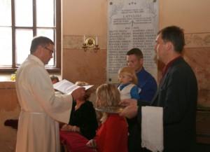 Kristību un iesvētību dievkalpojums Kabiles baznīcā 28.08.2016.