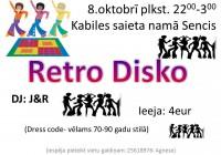 "Balle ""Retro Disko"" saieta namā 8.oktobrī"