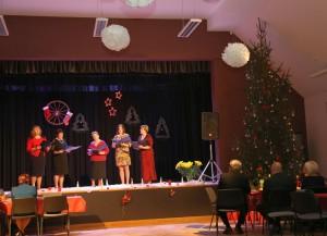 """Senioru Ziemassvētki Kabiles saieta namā """"Sencis"""" 17.12.2016."""