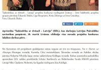 Skolas realizētais projekts – starp labākajiem Latvijā