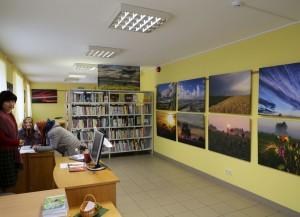 Eduarda Skabja fotoizstāde Kabiles bibliotēkā
