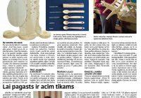 """Kabiles lapa laikrakstā """"Kurzemnieks"""" 14.02."""