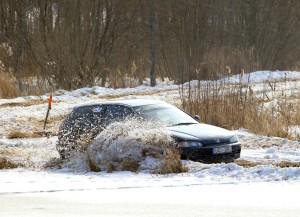 Auto ātrumsacensības pie Skolas dīķa 11.03.