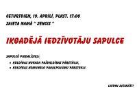 Iedzīvotāju sapulce 19.aprīlī