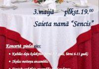 Baltā galdauta svētki 3.maijā