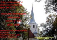 Vasarsvētku dievkalpojums 20. maijā