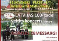 18.novembra svētku koncerts