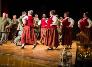 """Kabiles deju kolektīvi Skrundas """"Cīruļputenī"""""""